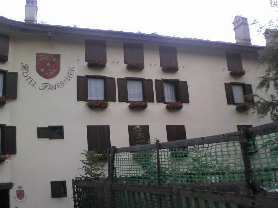 Hotel Tavernier : La facciata/2