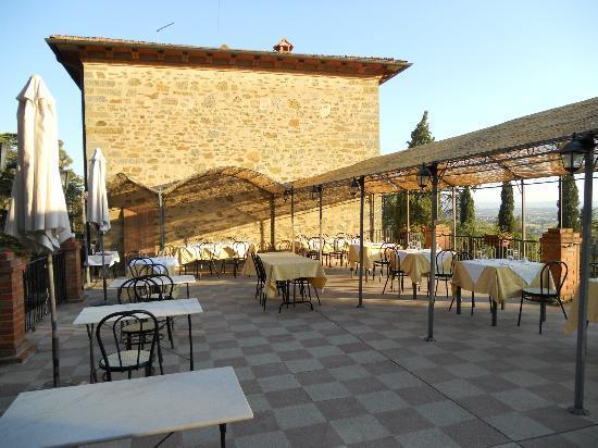 Villa Schiatti: Terrazza
