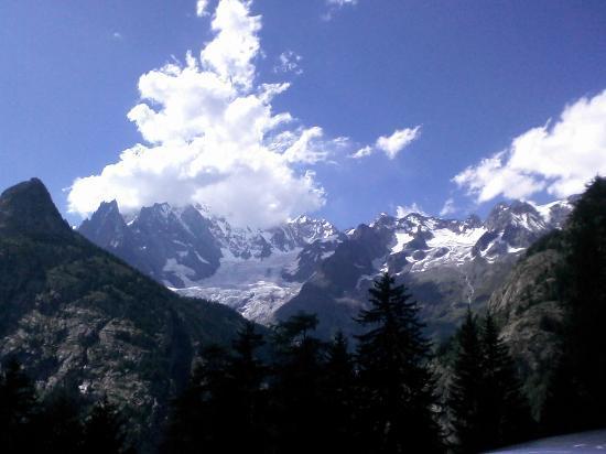 Hotel Tavernier : Il Monte Bianco