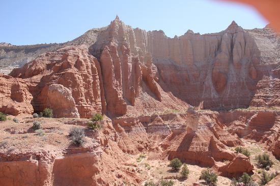 Kodachrome Basin State Park: attractive sandstone organ pipe formations