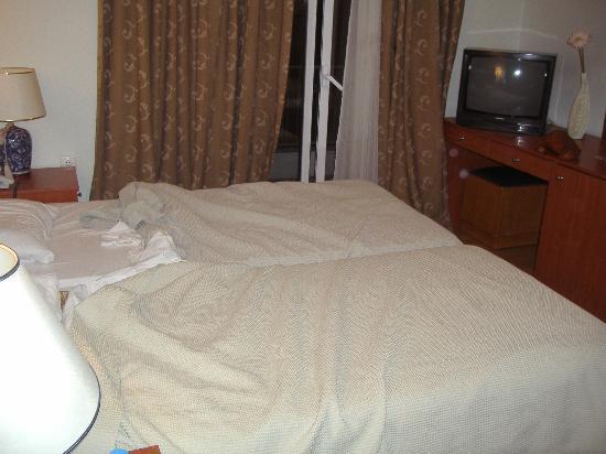 Hotel Ilion: Vista de la habitación desde la puerta