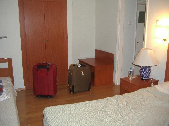 Hotel Ilion: Vista de la habitación desde la terraza