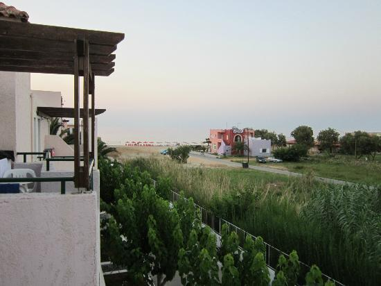 Kournas Village Beach Hotel: Panorama camera