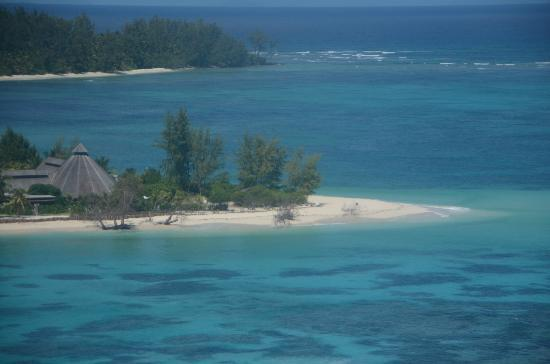 Denis Private Island Seychelles: vista desde el avión