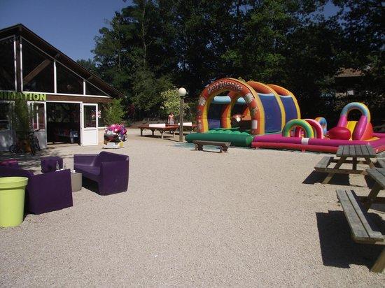 Yelloh ! Village Parc du Val de Loire : The entertainment area