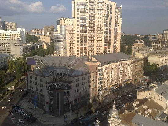 Premier Hotel Lybid: View from the 15th floor