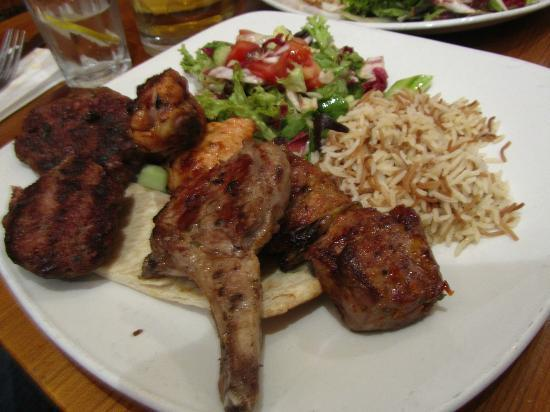 Gallipoli Bistro : Gallipoli special kebab