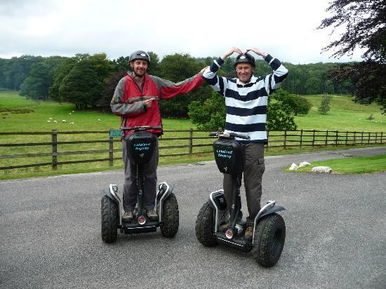 Lakeland Segway: Look no hands (and a Mobot/Bolt moment)