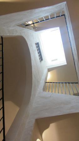 Domus Balthasar Design Hotel: Stairwell