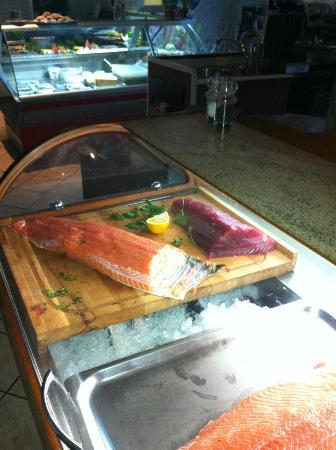 Ristorante San Daniele: Lachs und Thunfisch Sashimi