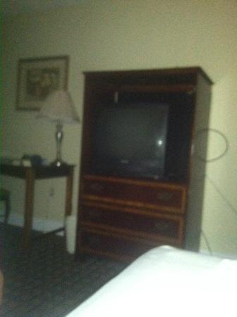 Creekside Lands Inn: room view of TV