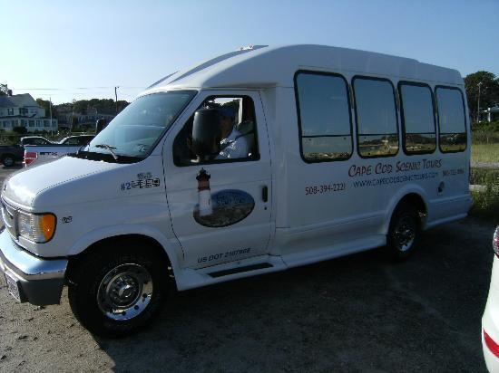 Cape Cod Scenic Tours: The bus!