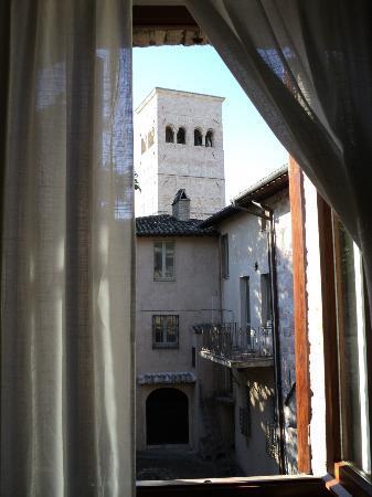 Hotel San Rufino: Vista dalla camera