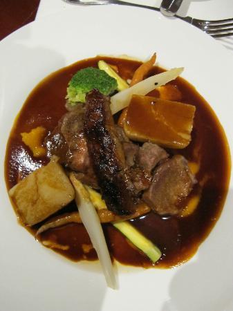 Stocks Hotel: Dinner