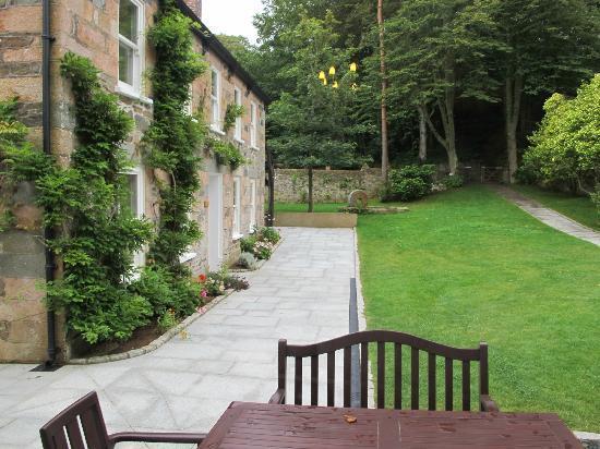 Stocks Hotel: View from main door