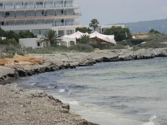 Hostal Aigua Clara: vista esterno