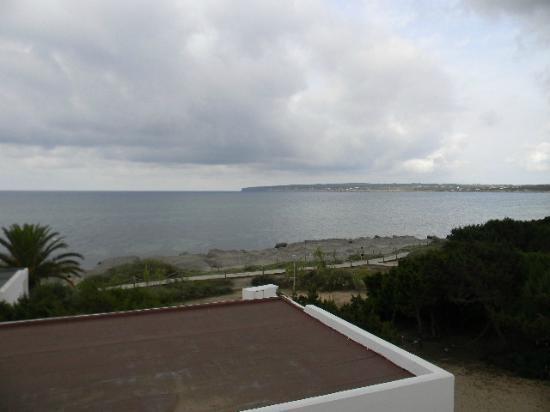 Hostal Aigua Clara: vista terrazzo