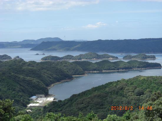 Sasebo, Japan: 長串山公園