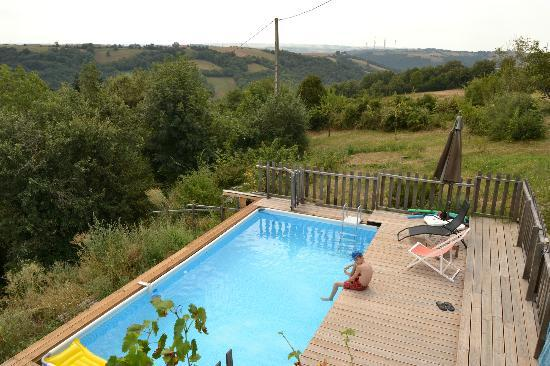 Barbiel: view of the pool