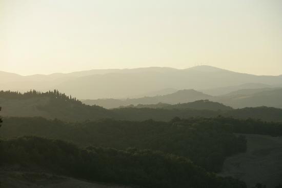 Agriturismo Fattoria di Statiano: Uitzicht vanuit het huisje
