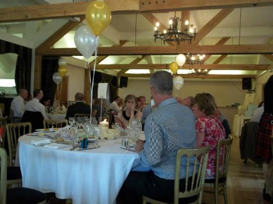 Newtown House Hotel: Into the wedding breakfast