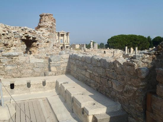 The Trajan Fountain - Picture of Ancient City of Ephesus ...