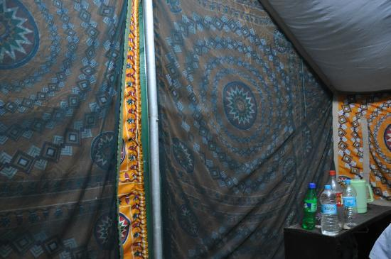 Nameri Eco Camp: Inside of our tent