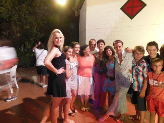Club Lipari Hotel : ma famille