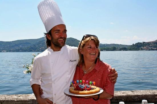 Blevio, Italy: Momi helped make my 50th birthday special...!