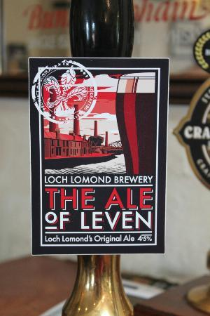 The Clachan Inn: local ale