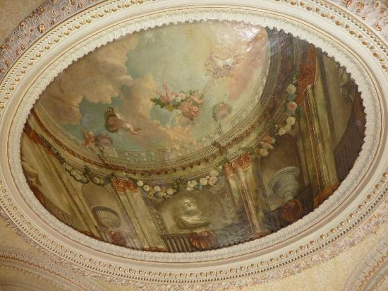 Drogheda, Irlande : Ceiling in the drawing room