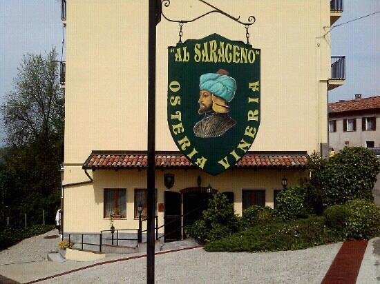 """Vinchio, Itália: Ristorante """"Al Saraceno"""""""