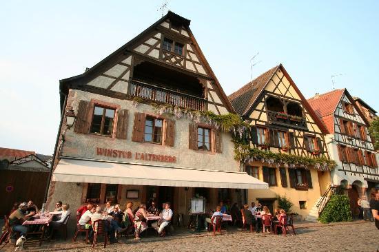 escale obligatoire à Bergheim