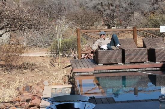 Pilanesberg Private Lodge: View from the patio