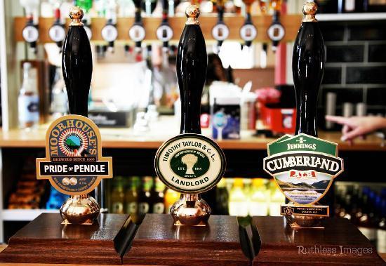 Parkfield Inn: cask ales