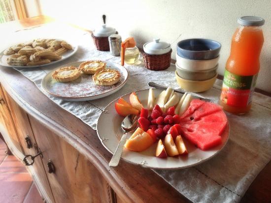 La Lignenga: colazione