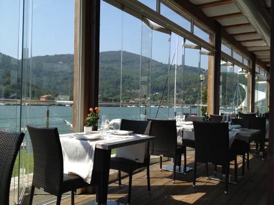 Ameglia, Italie : il patio