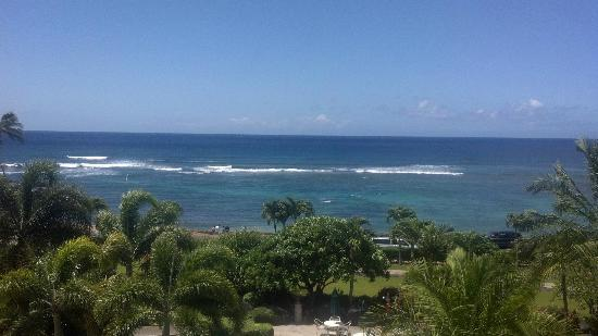 Lawai Beach Resort: View from our Lanai