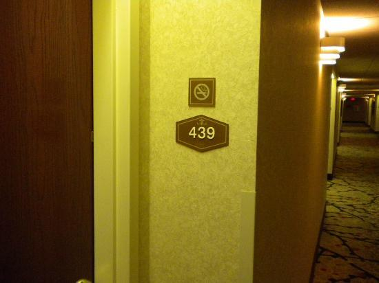 Hampton Inn St. Petersburg: Example for Rooms Desginated as Non Smoking