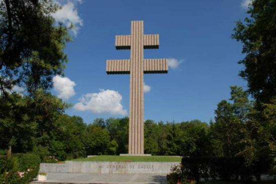 The Cross Above The Memorial Building Picture Of Memorial Charles De Gaulle Colombey Les Deux Eglises Tripadvisor