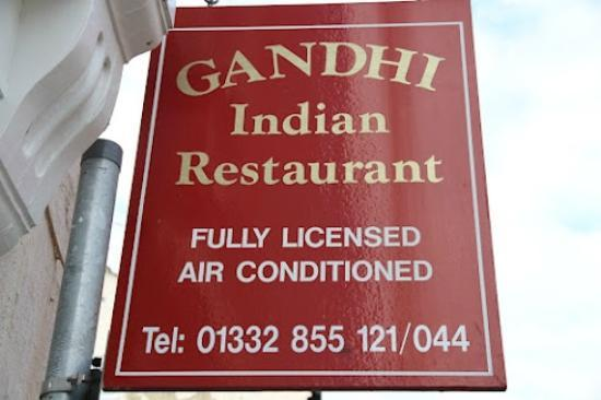 Castle Donington, UK: Gandhi Indian Restaurant