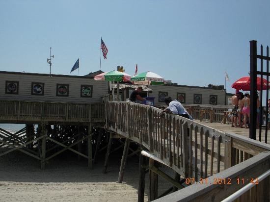 Myrtle Beach Boardwalk Promenade Pier 14 Restaurant Lounge