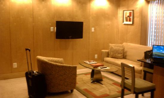 The Eldon Luxury Suites: Living Room