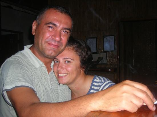 Levantin: Bogdan and Adriana - The people who will take good care of you.