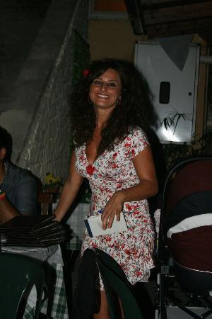 Ristorante Carpe Diem : la ristoratrice Letizia, molto simpatica e cortese