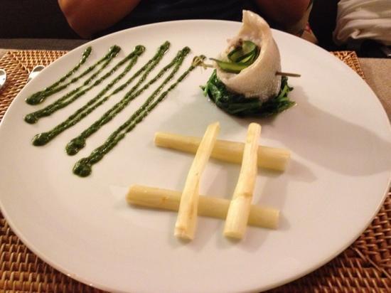 Barashka : Filet of dorado