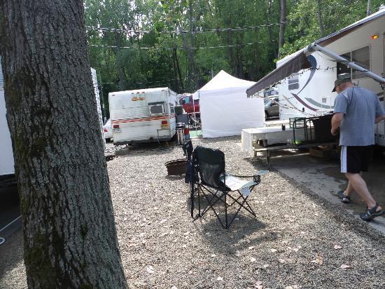 Sara's Campground: Our campsite