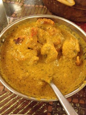 Heritage Indian Restaurant: fish curry
