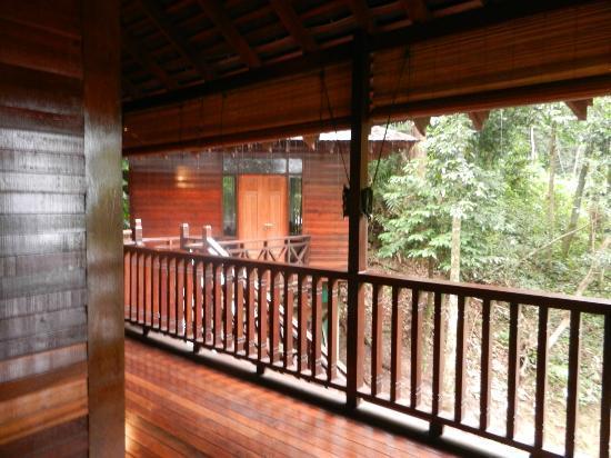 Bunga Raya Island Resort & Spa: terrazza villa