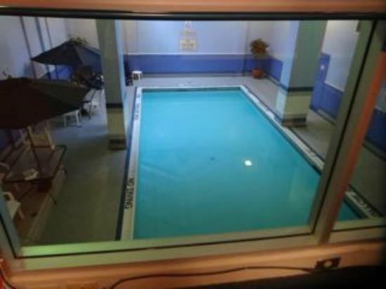 The Metcalfe Hotel: indoor pool